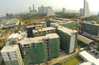Seven Seas Condo Resort - construction progress