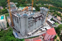 Unixx South Pattaya - photo from construction site