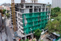 Serenity Wongamat - photoreview of construction site