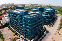 Acqua Condominium - photos of construction
