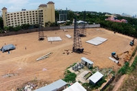 Dusit Grand Park Pattaya - beginning of construction