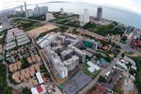 Seven Seas Jomtien - aerial photos