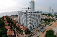 Nam Talay Condominium - photos of construction