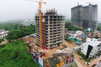 Dusit Grand Condo View - construction photos