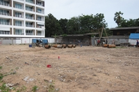 Construction of Beach 7 Condo started today