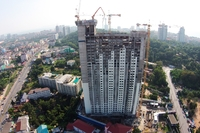 Unixx South Pattaya - photoreview of construction