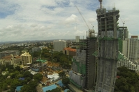 The Palm Wong Amat - photo of construction