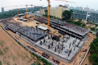 Dusit Grand Park Pattaya - photos of construction