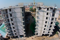 City Center Residence - photos of construction