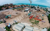 Centara Grand Residence - construction site