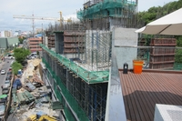 Waterfront Suites and Residences - construction photo review