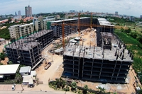 Dusit Grand Park Pattaya - construction site