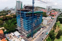 1 Tower Pratumnak - construction site