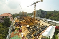 Unixx South Pattaya - construction pictures