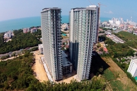 The Grand AD Jomtien Beach - construction progress