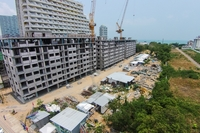 Trio Gems Condominium - construction updates