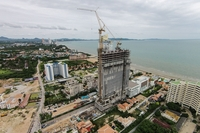 Veranda Residence Pattaya - photo report from construction site