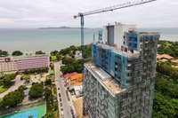 One Tower Pratamnak - construction progress