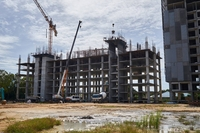 Construction update of Savanna Sands Condo