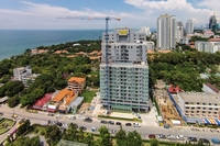 One Tower Pratamnak - aerial photography