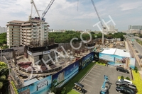 The Riviera Jomtien construction photos