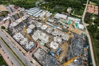Espana Condo Resort - construction update