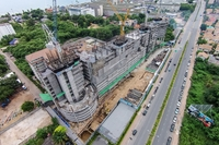 The Riviera Jomtien - construction progress