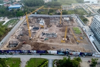 Grand Florida Condo Resort - photo from construction site