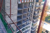 The Peak Towers - construction site photos