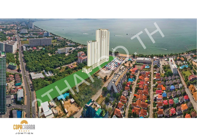Copacabana Beach Jomtien, พัทยา, จอมเทียน - photo, price, location map